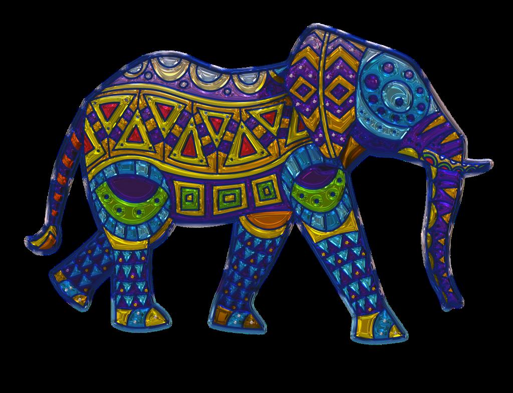 slon feng shui simbol