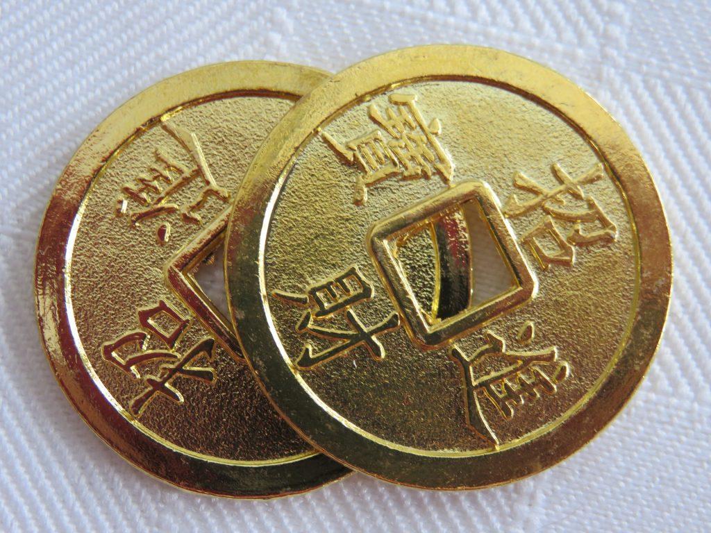 kineski novčići Feng shui