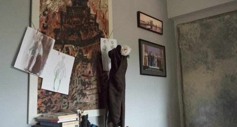 TRANSFORMACIJA PROSTORA u ateljeu modnog dizajnera Kovačev Vasilija