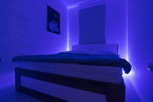 spavaća soba plava