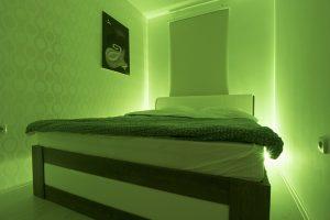 spavaća soba zelena