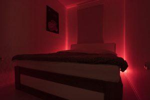 spavaća soba crvena