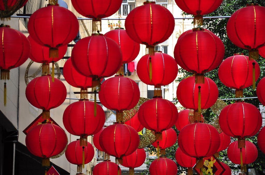 crveni lampioni