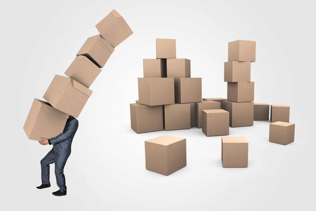 Rešite se suvišnih stvari - kutije
