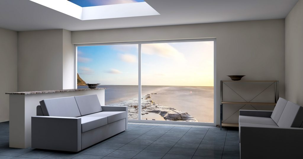 Soba sa pogledom na okean i plažu