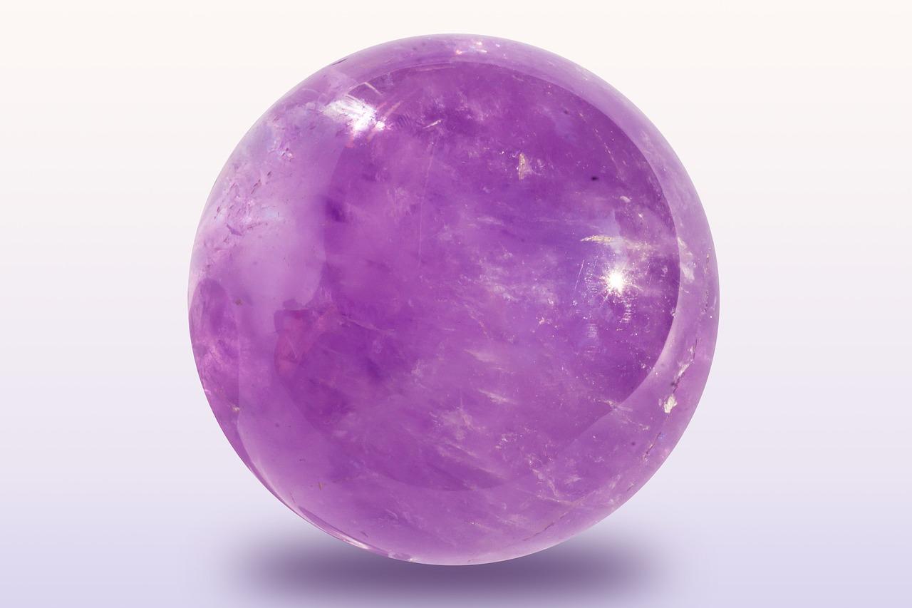 ametist kristal kugla