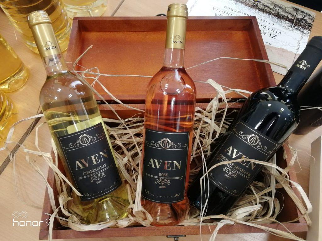 Vinarija Aven - brendiranje po Feng shui principima. Vino Chardonnay, Rose, Cabernet Sauvignon